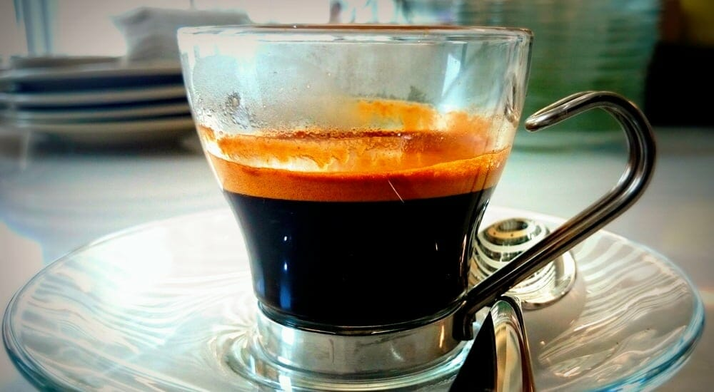 real authentic espresso crema!