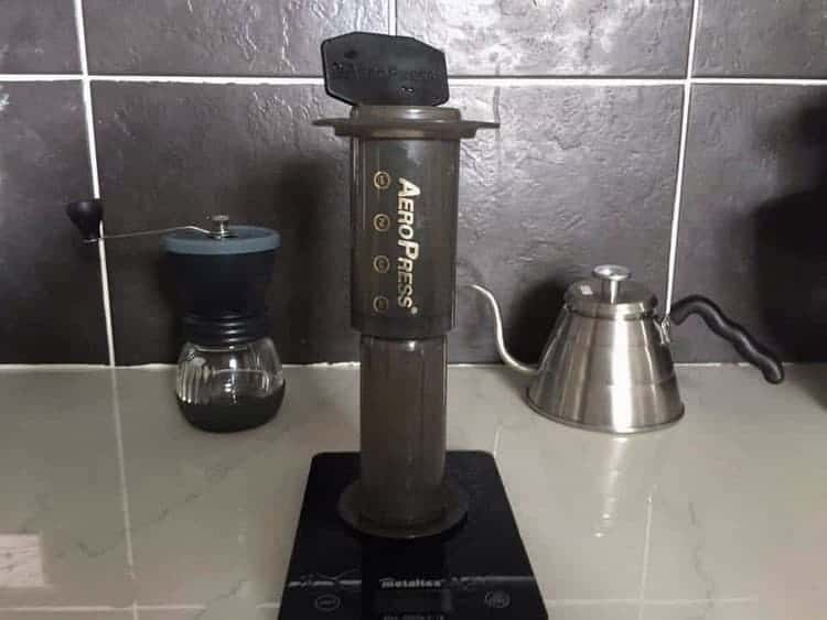 inverted aeropress
