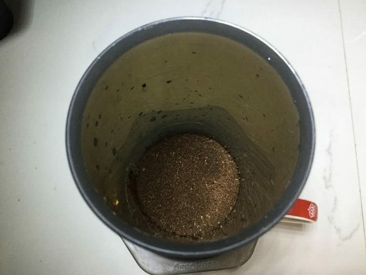 Add Your Coffee Grounds