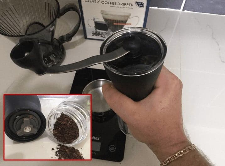 Step 5: Grind Your Coffee