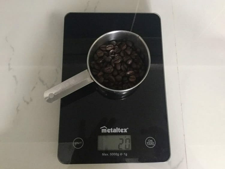 Weigh Your Coffee Beans