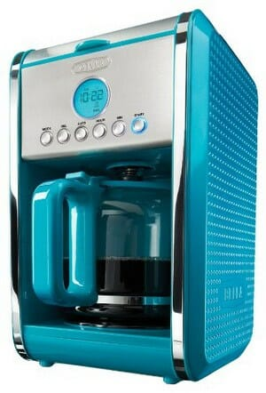 BELLA Dots Collection Programmable Coffee Maker