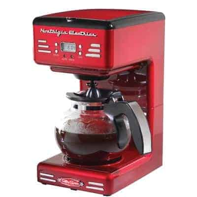 Nostalgia Retro Electric 12-Cup Coffee Maker
