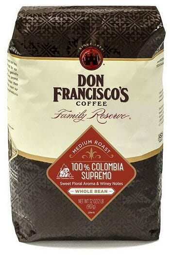 Don Franciscos 100 Colombia Supremo