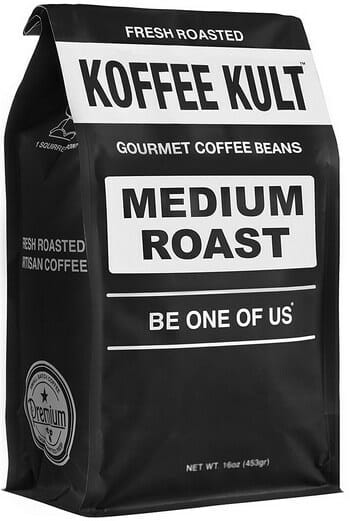 Koffee Kult Medium Roast Artisan Blend Coffee Beans