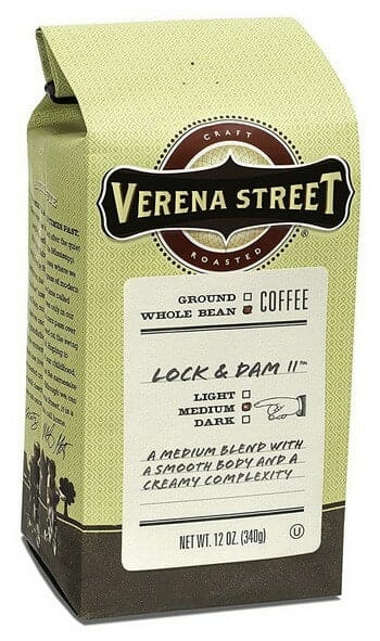 Verena Street 12 Ounce Whole Bean Coffee
