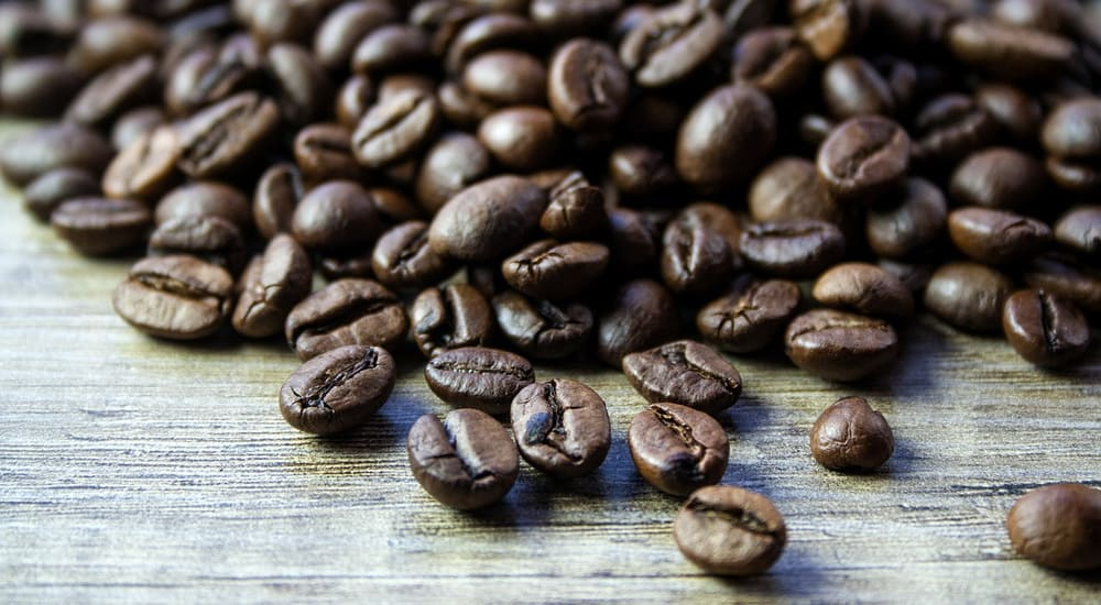 roasted coffee beans whole