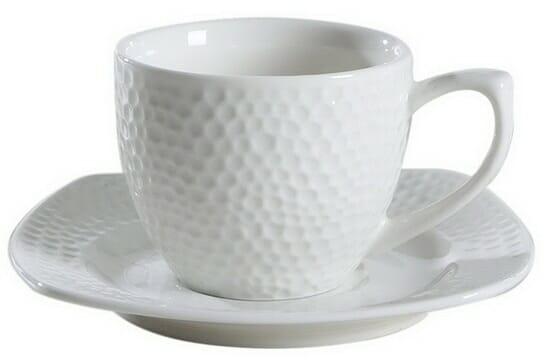 Solecasa Porcelain Espresso Cup and Saucer Set