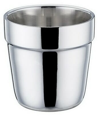 TeamFar Double Wall Stainless Steel Espresso Cups