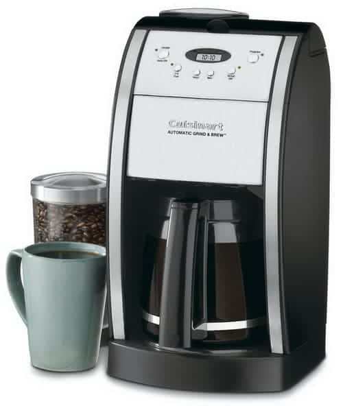 Cuisinart DGB-550BK Grind & Brew Automatic Coffee Maker