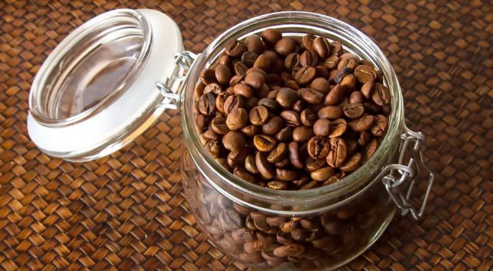 best glass coffee jar