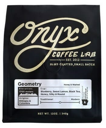 "Onyx Coffee Lab ""Geometry Blend"" Whole Bean Coffee"