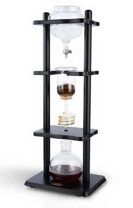 Yama Glass Coffee Tower with Iced Slow Drip Technology