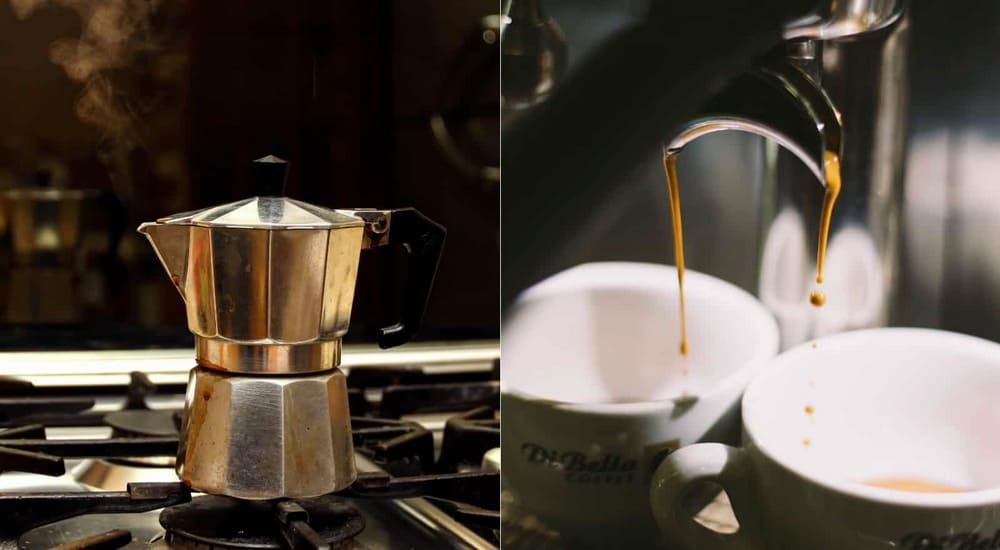 Moka-Pot vs Espresso machine